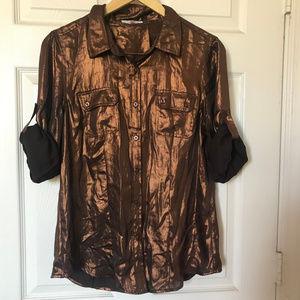 Calvin Klein Metallic Shirt